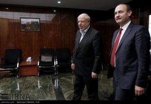 Tunisian Minister of Energy and Mines Mongi Marzouk met with Iranian Energy Minister Hamid Chitchian.