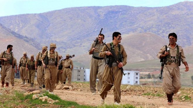 Iran mobilizes forces on border with Kurdistan