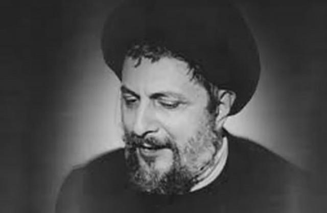 Today Al-Sadr disappearance story is complete