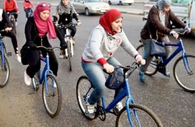 Women in Mashhad barred from using public bicycles