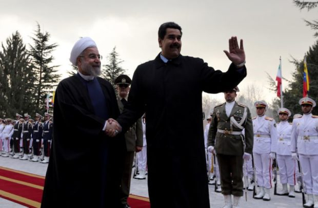 Iran cozies up with Venezuela, creeping into America's backyard