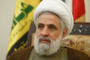 Lebanon's Hezbollah deputy leader Sheikh Naim Qassem is pictured during an interview with Reuters at his office in Beirut's suburbs, Lebanon August 3, 2016. (Reuters)