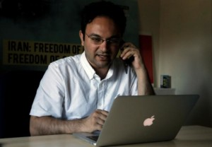 Amir Rashidi, an Internet security researcher who has worked with Telegram users who were victims of hacking. (Reuters)