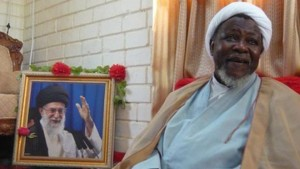 Sheikh Zakzaky, leader of the Islamic Movement in Nigeria, is inspired by Iran's Ayatollah Khomeini