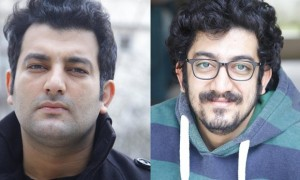 Mehdi Rajabian, right, and his brother, Hossein, are each facing three years in jail in connection with their artistic activities.