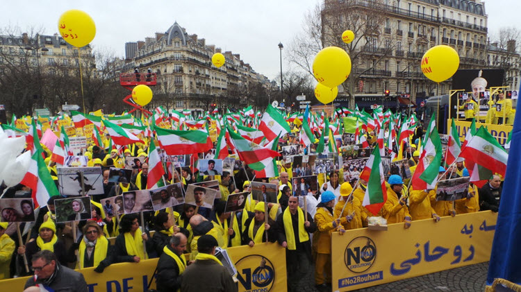 Protests continue against Iranian regime FM's visits to European countries – Iranians demand Javad Zarif's expulsion from Paris