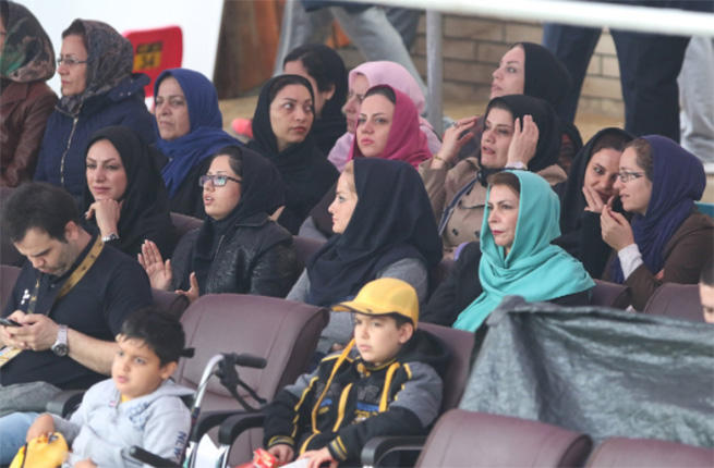 Iranian women can finally attend volleyball games if they practice 'Islamic behavior'