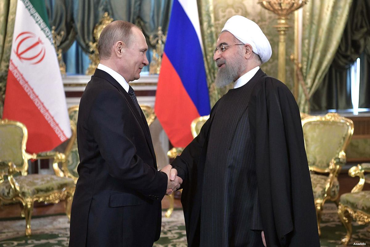 Russia reluctant to support Iran's destabilizing behavior