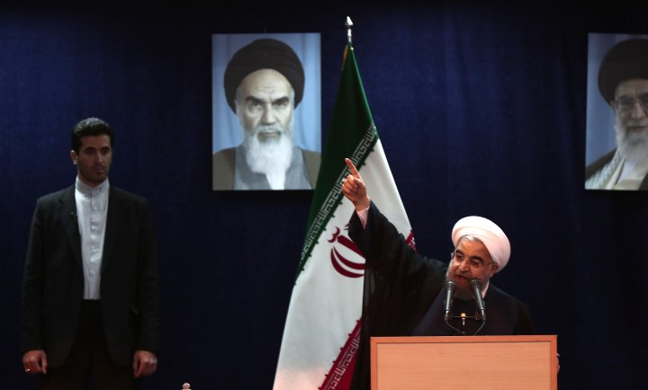 Iran president slams removal of candidates from elections