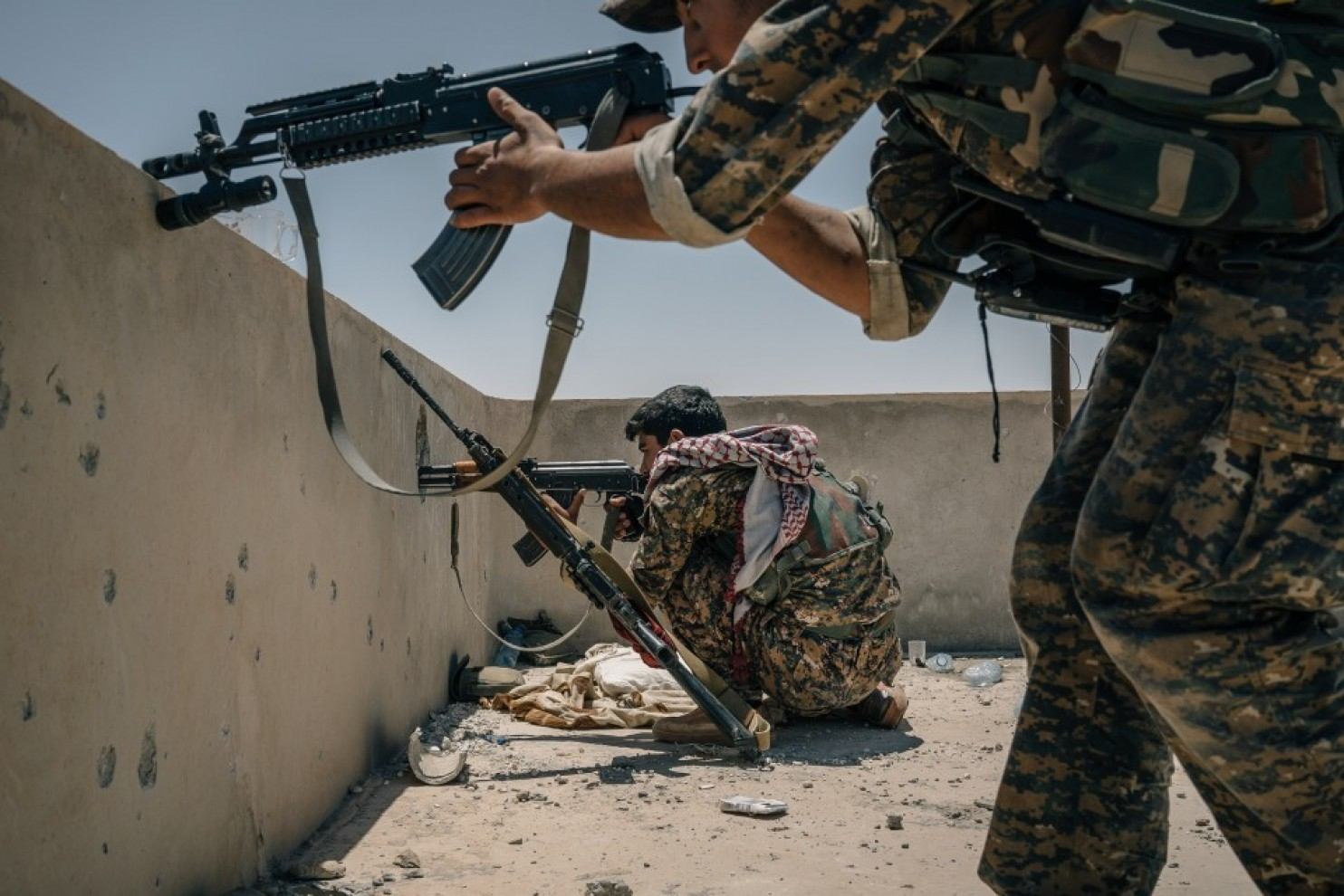 US trains 30,000 SDF members east Syria to 'contain' Iran