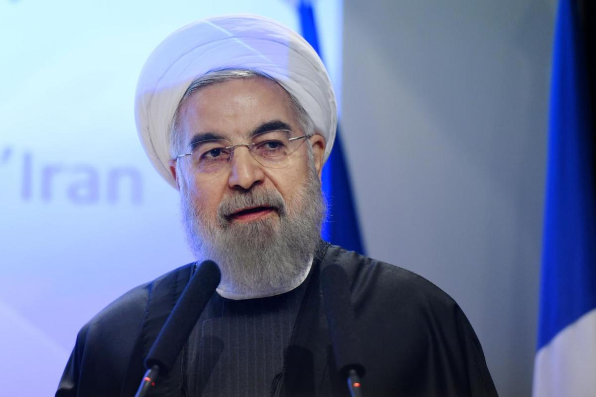 Rouhani says Iran building pipeline to circumvent Hormuz