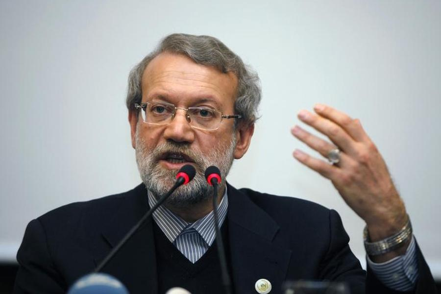 Iran speaker Larijani: Iranian businessmen will reconstruct Syria