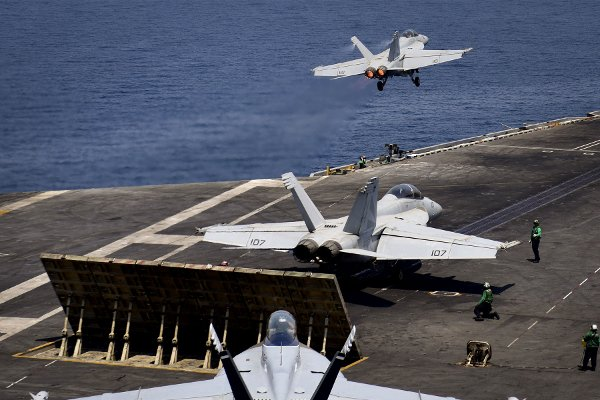 Iran's Guard flew surveillance drone over USS Nimitz