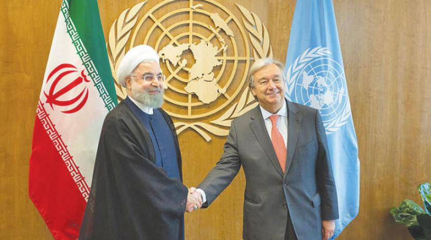 UN chief says 9 African nations, Iran in arrears on UN dues