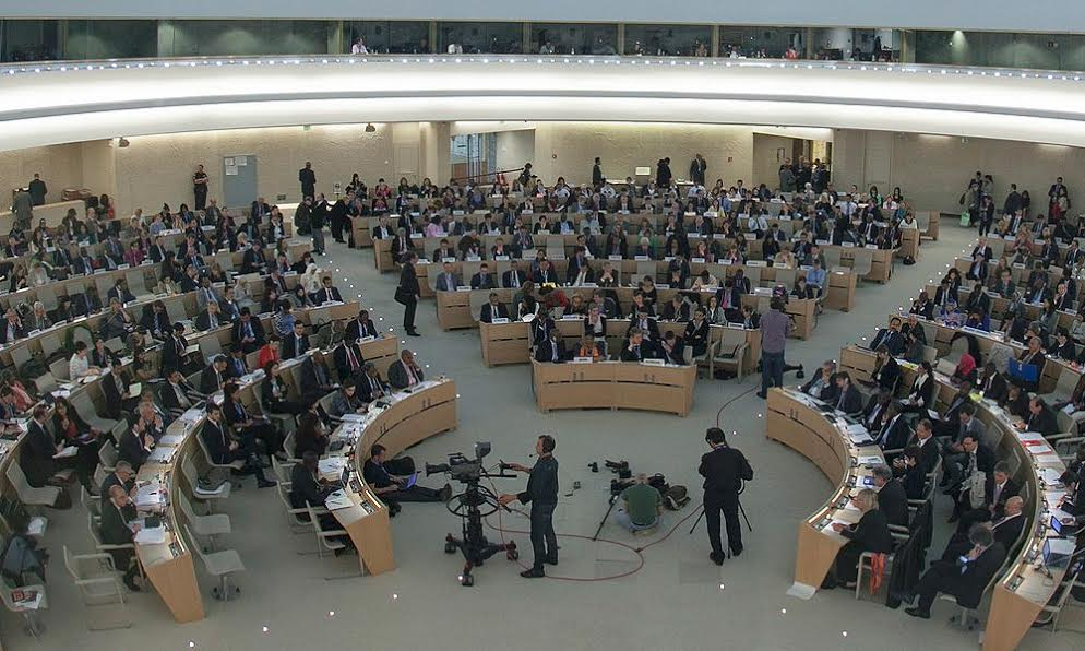 U.N. Human Rights Council condemns situation in Iran
