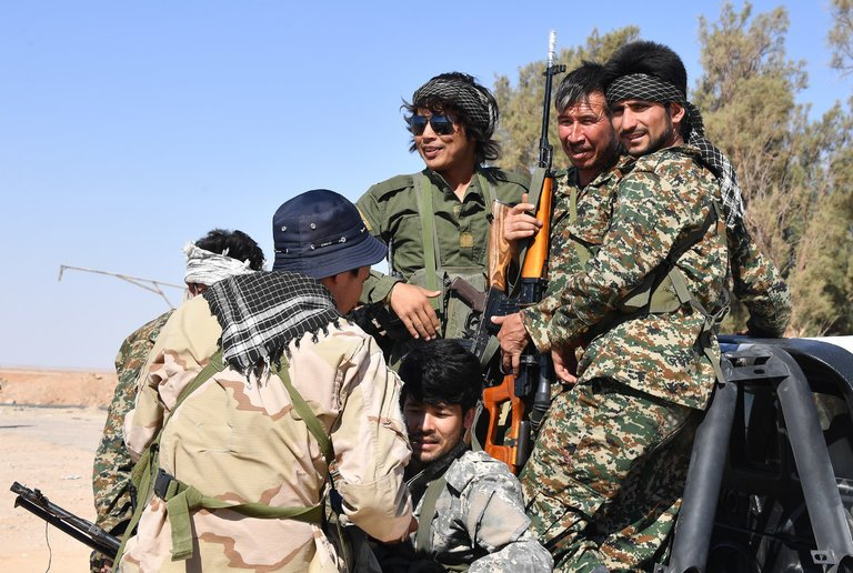Returning from Syria, Iranian-backed Afghan fighters could pose threat