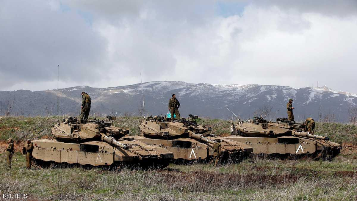 Israeli military targets Hezbollah activity in Syria