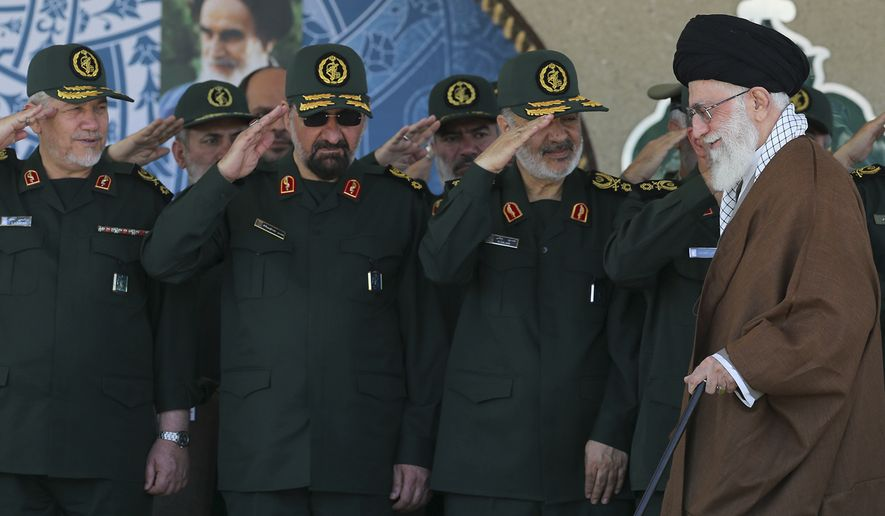 There can never be peace with Iran's Revolutionary Guard Corps