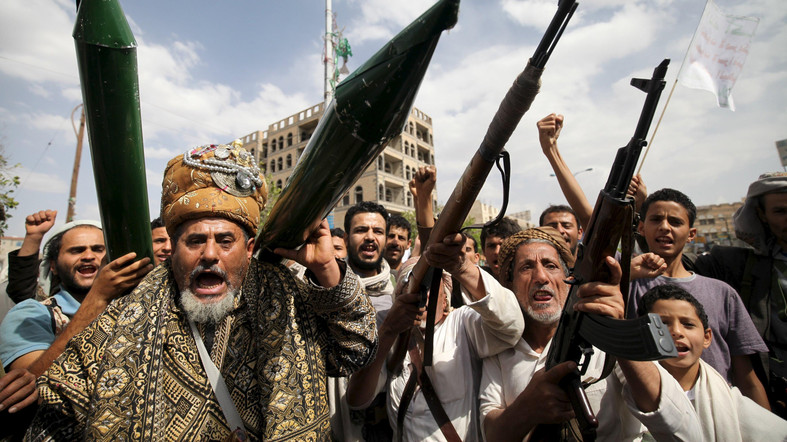Iran-backed Houthis are turning Sanaa airport into a military base