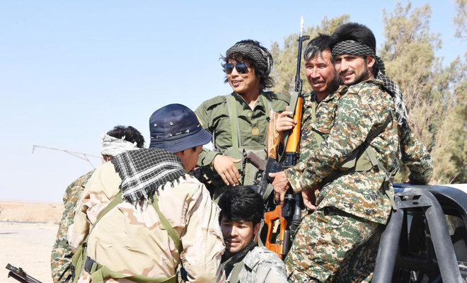 For 'Greater Iran', Afghan, Pakistani fighters give their lives in Syria