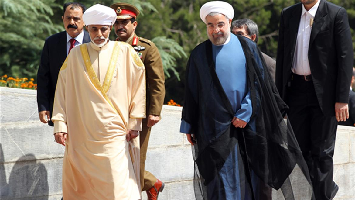 "Oman's Foreign Ministry says it's working to ""ease the tensions"" between Iran and the U.S."