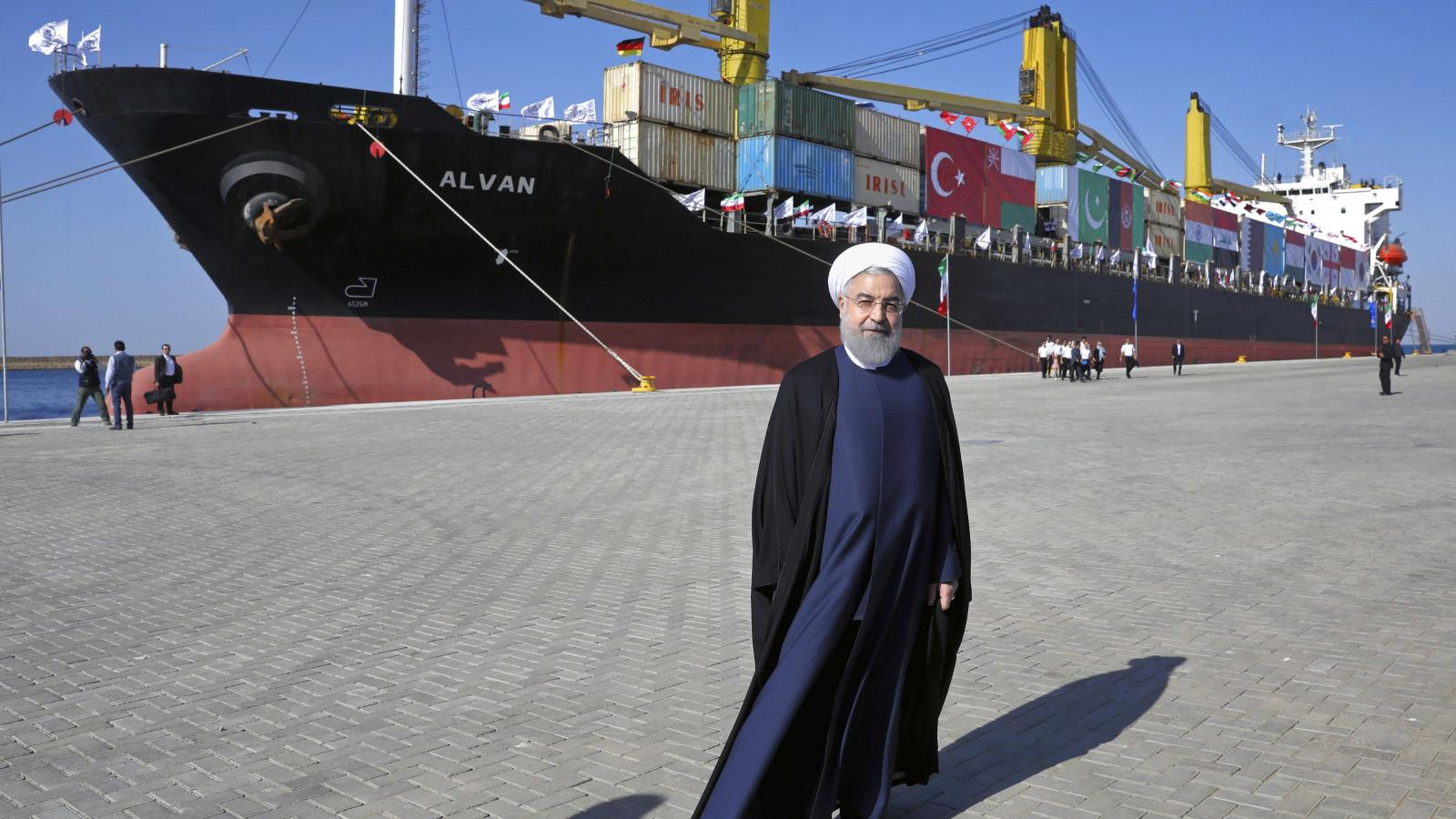 Iran looks to remote port to beat US sanctions