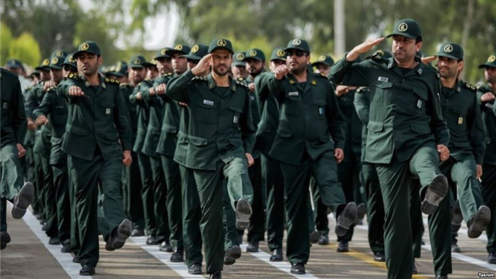US officially designates Iran's Revolutionary Guards a terrorist group