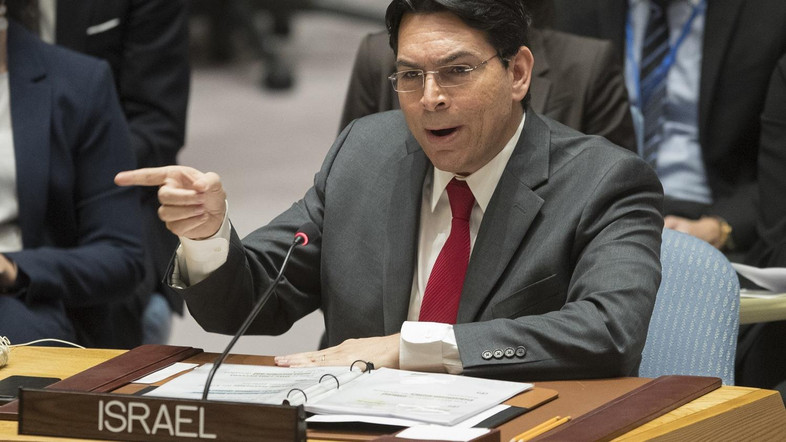 Israeli ambassador to UN says Iran sponsoring terrorism in Middle East