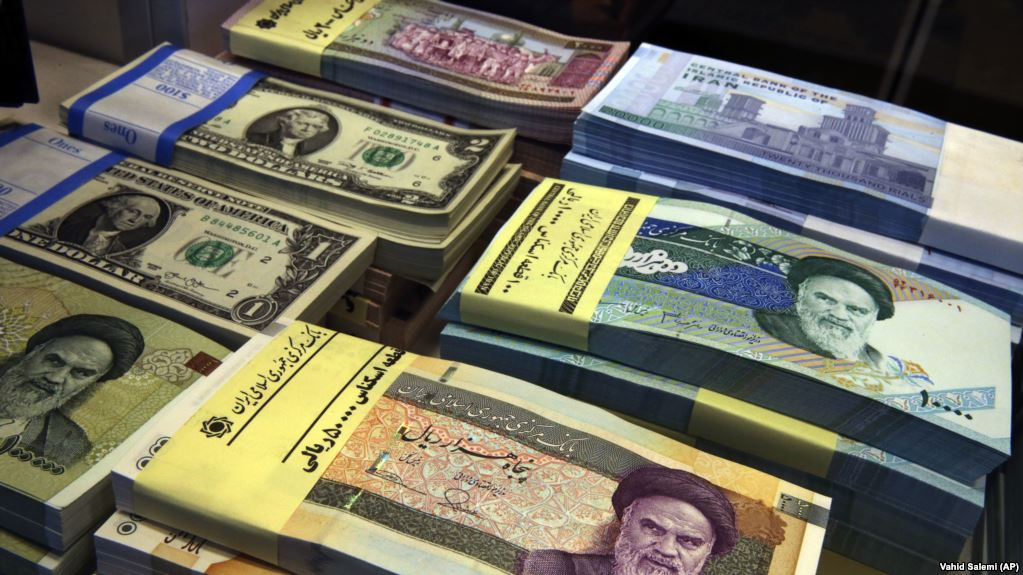 Iran's currency reached a six-month low on Monday