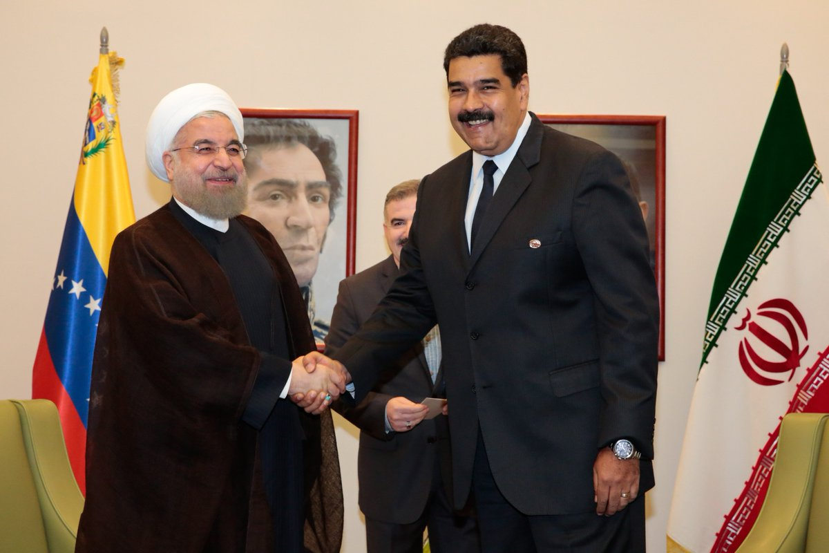 Iran and Venezuela's strategic challenge to sanctions