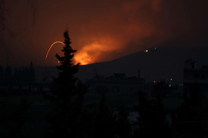 Missile attacks on military airport, Iran-backed militias in Syria