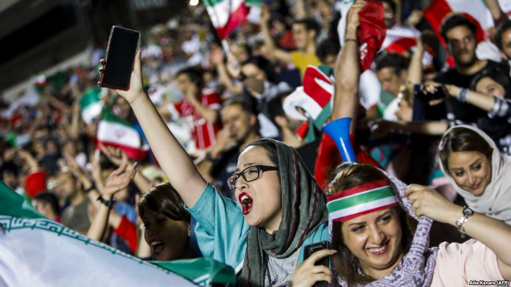 Iran minister says more stadiums made ready to accept women fans