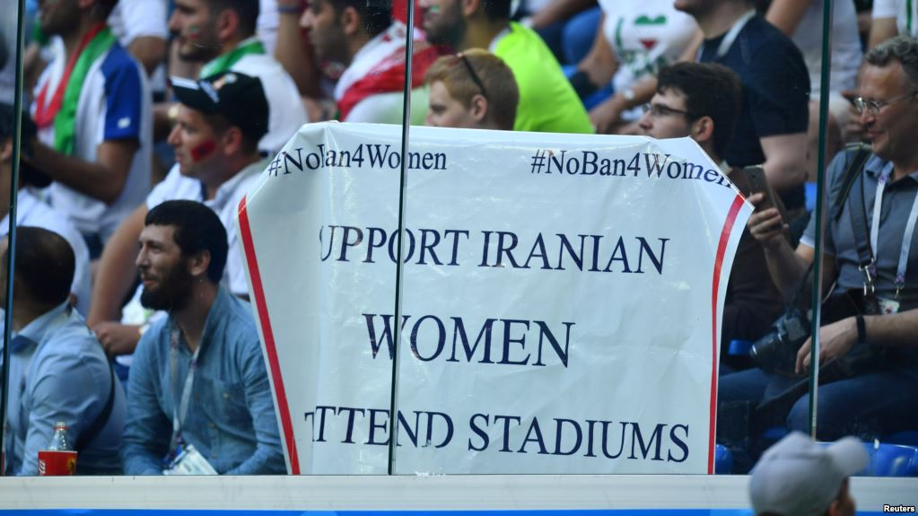 Wrong to remove World Cup fans advocating for Iranian women – FIFA