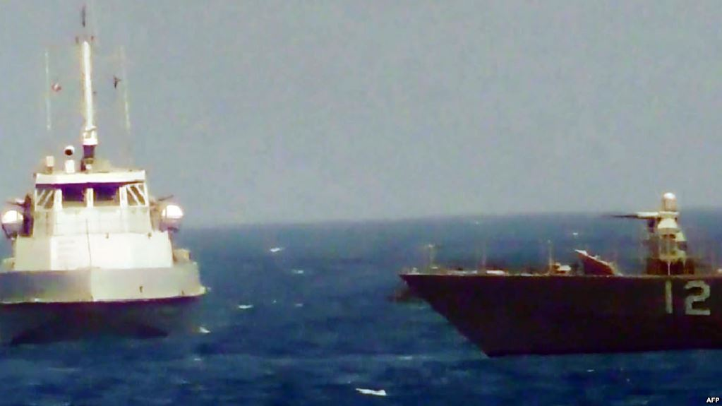Iran forces Algerian tanker into its waters