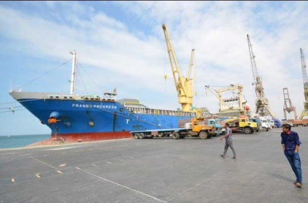 Yemen's Iran-backed Houthis attack Mokha aid port with missiles