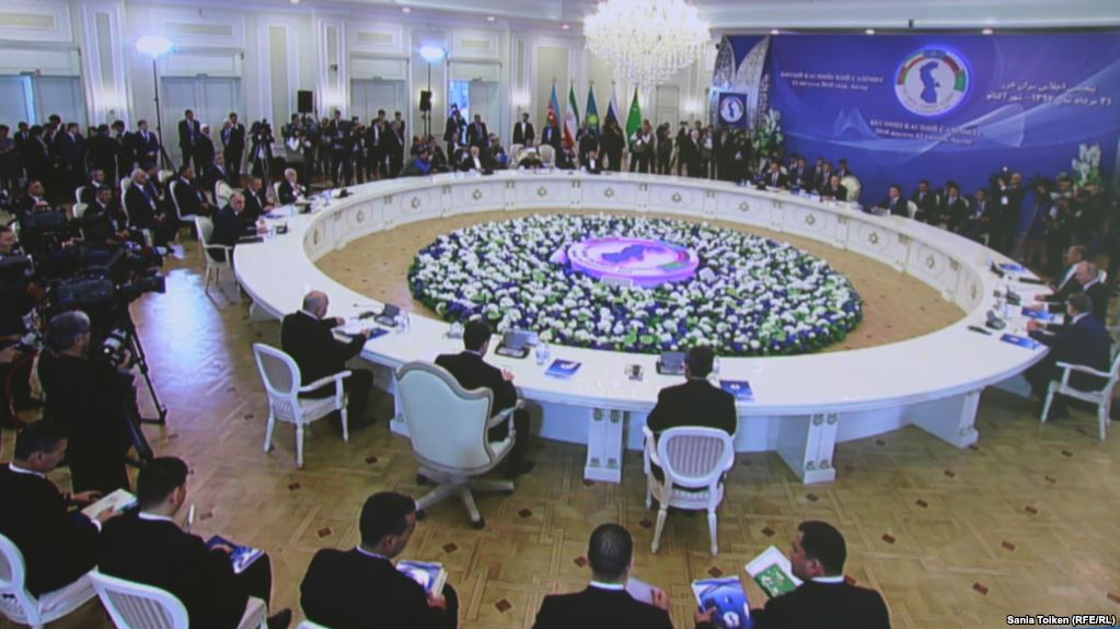 Rouhani defends Caspian Sea convention, saying no sell-out