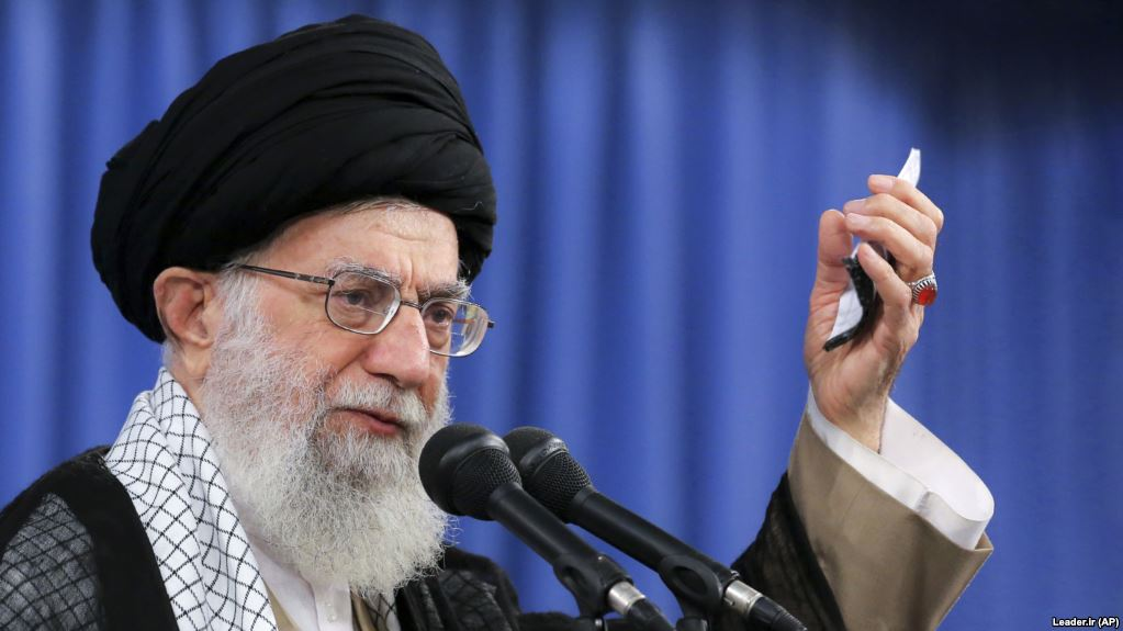Iran's Khamenei says US oil sanctions won't go 'without response'