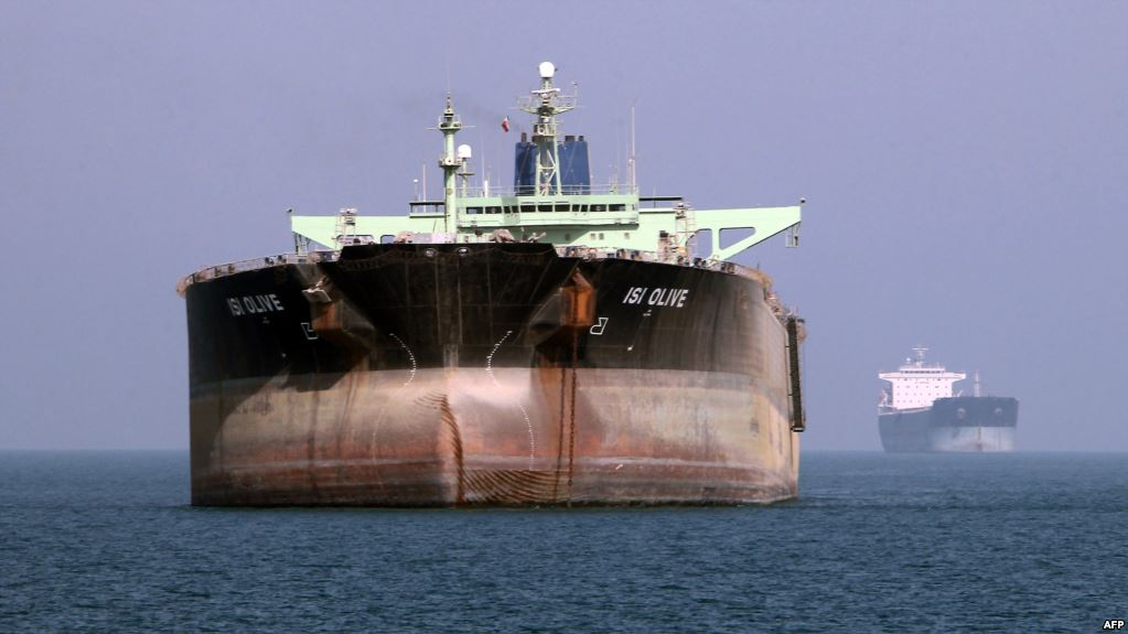Iran stores more oil on land and at sea as exports slump