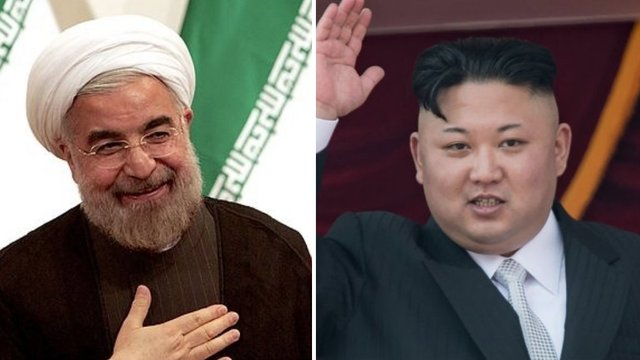 North Korea and Iran teaming up again as US weighs Iran nuclear deal