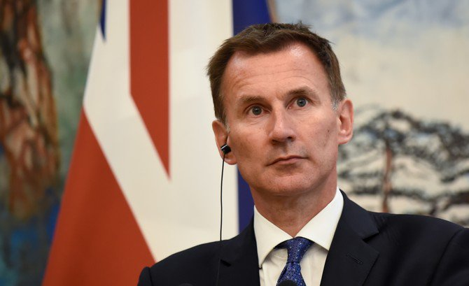 Britain's Hunt says Iran one year away from nuclear bomb