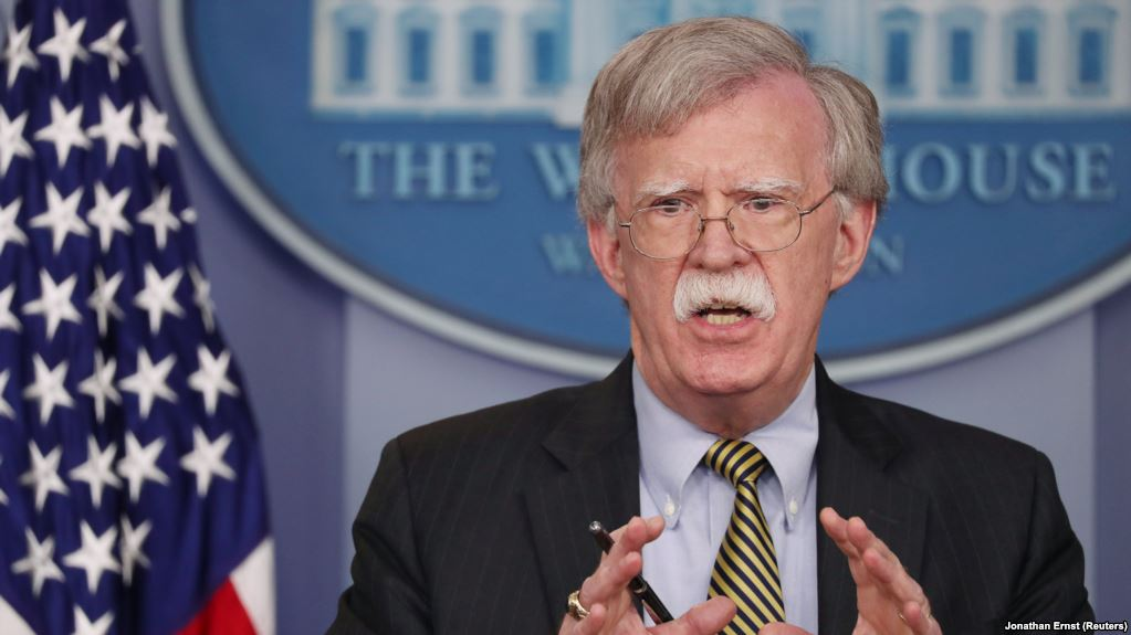 John Bolton defends United Against Nuclear Iran from Russian scolding