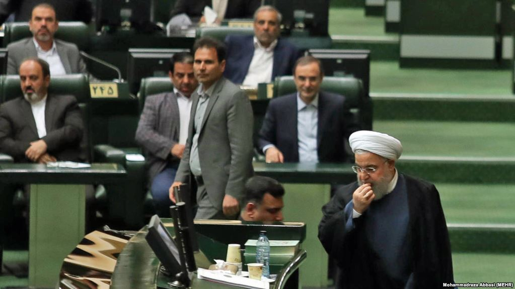 Iran's government withdrew money from national reserve to pay salaries