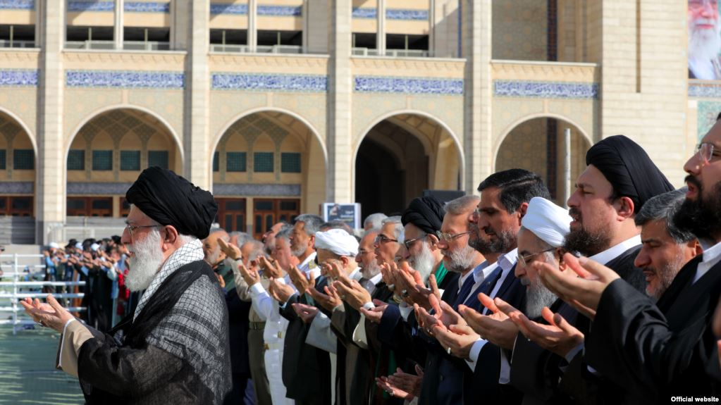 Iran's religious leaders try to dispel danger of war in their sermons