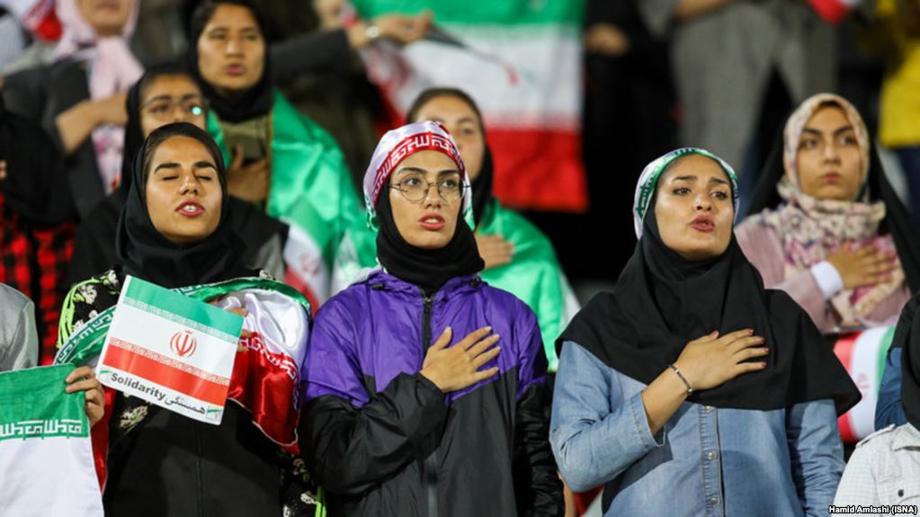 Oppression of women extends into Iran football stadiums