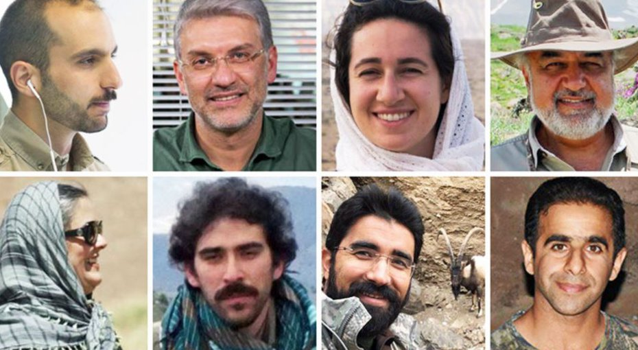 Iran conservationists get prison time amid unrest