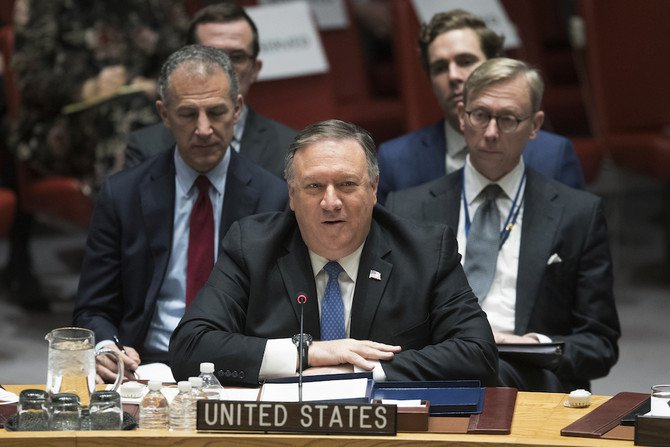US Secretary of State Pompeo, at UN, urges tougher action on Iran missiles