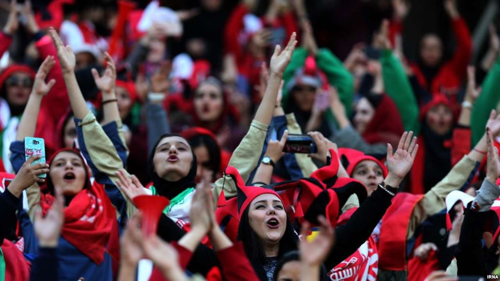 FIFA claims progress in letting women attend games in Iran