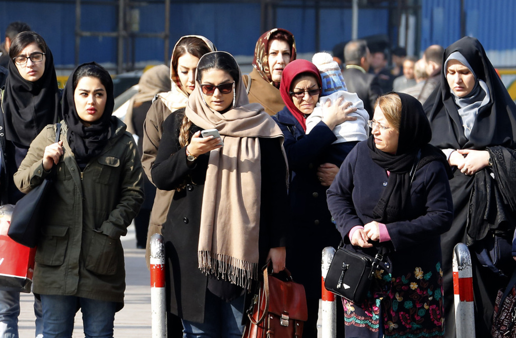 Who is in charge of protecting vulnerable women and children in Iran?