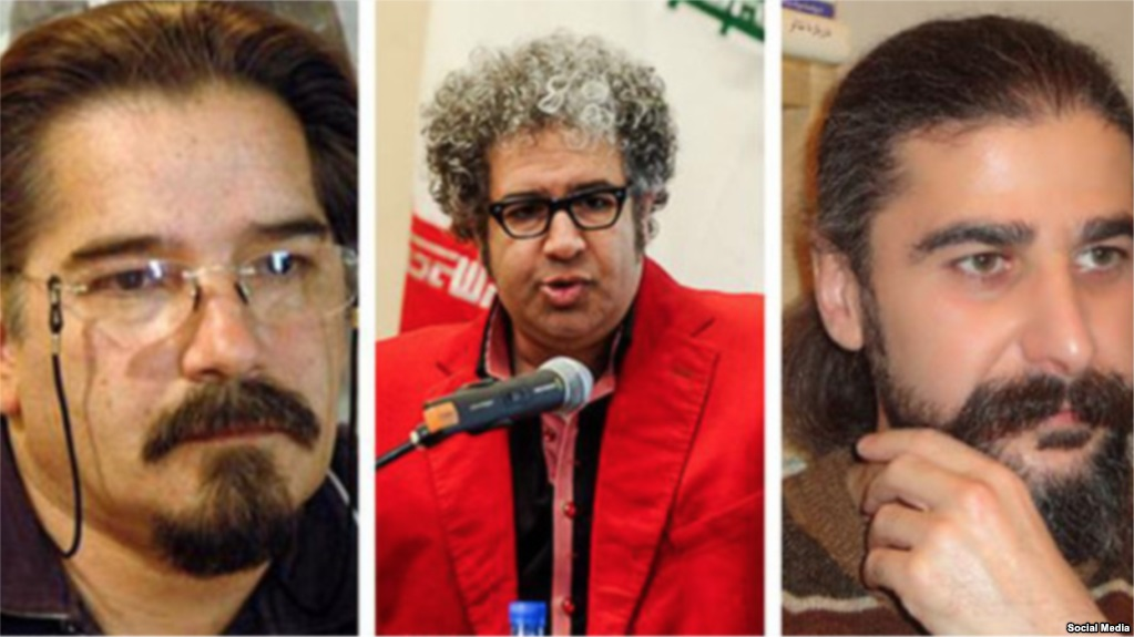 Three Iranian dissidents to be honored by PEN America