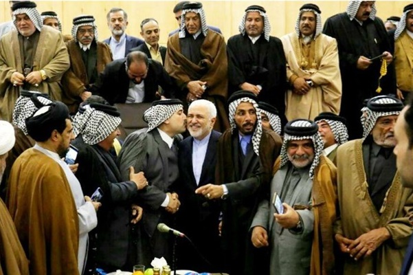 Zarif meeting tribal leaders in Iraq provokes ire, criticism